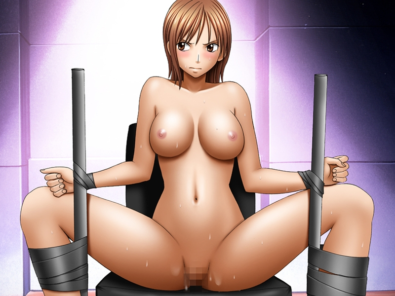Toon sex pic ##00013081859 bondage bondage breasts censored crimson comics nami one piece spread legs sweat