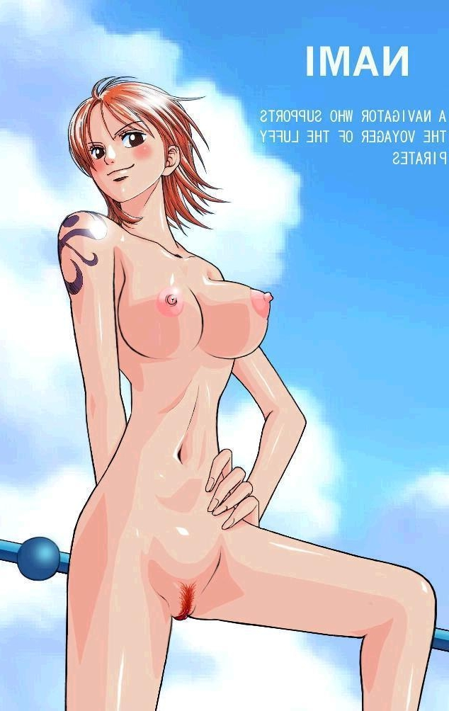 Toon sex pic ##00013075866 female breasts female naked nami nipples nude nude filter one piece orange hair photoshop pubic hair pussy tattoo uncensored undressing