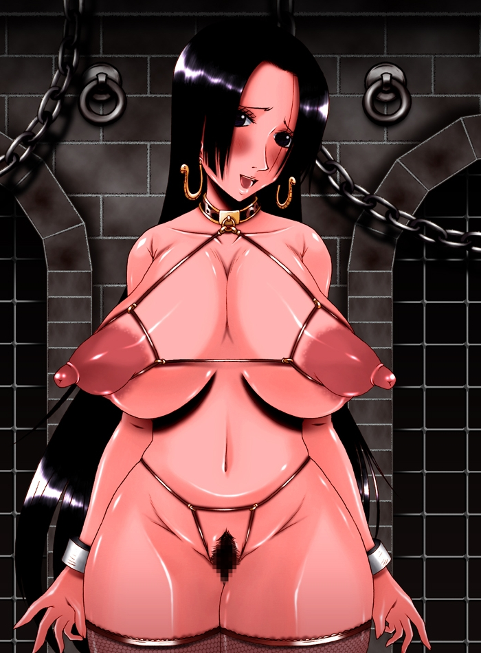 Toon sex pic ##00013079863 areolae bb blush boa hancock breasts censored erect nipples hips huge breasts kazuma (pixiv97264) large areolaee large breasts long nipples nipples one piece pubic hair pussy wide hips