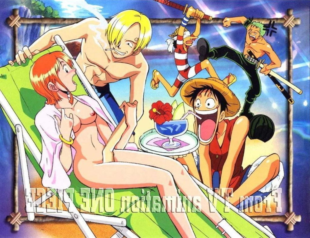Toon sex pic ##00013074943 female 4boys beach bracelet breasts drink fingering grope groping jewelry molest molestation molesting monkey d luffy multiple boys nami nipple nipples nude nude filter one piece open mouth orange hair photoshop public roronoa zoro sanji short hair undressing usopp