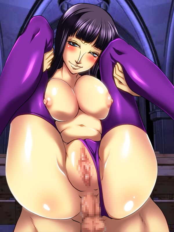 Toon sex pic ##00013060892 anal bb blush breasts censored nico robin nipples one piece penis pussy smile uk-violet