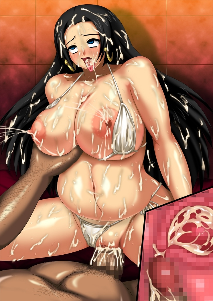 Toon sex pic ##00013059529 ahe gao artist request bikini boa hancock breast hold breast squeeze breasts censored cum cum inside earrings fucked silly hpd huge breasts inflation jewelry lactation long hair nipples one piece plump pregnant sex swimsuit x-ray
