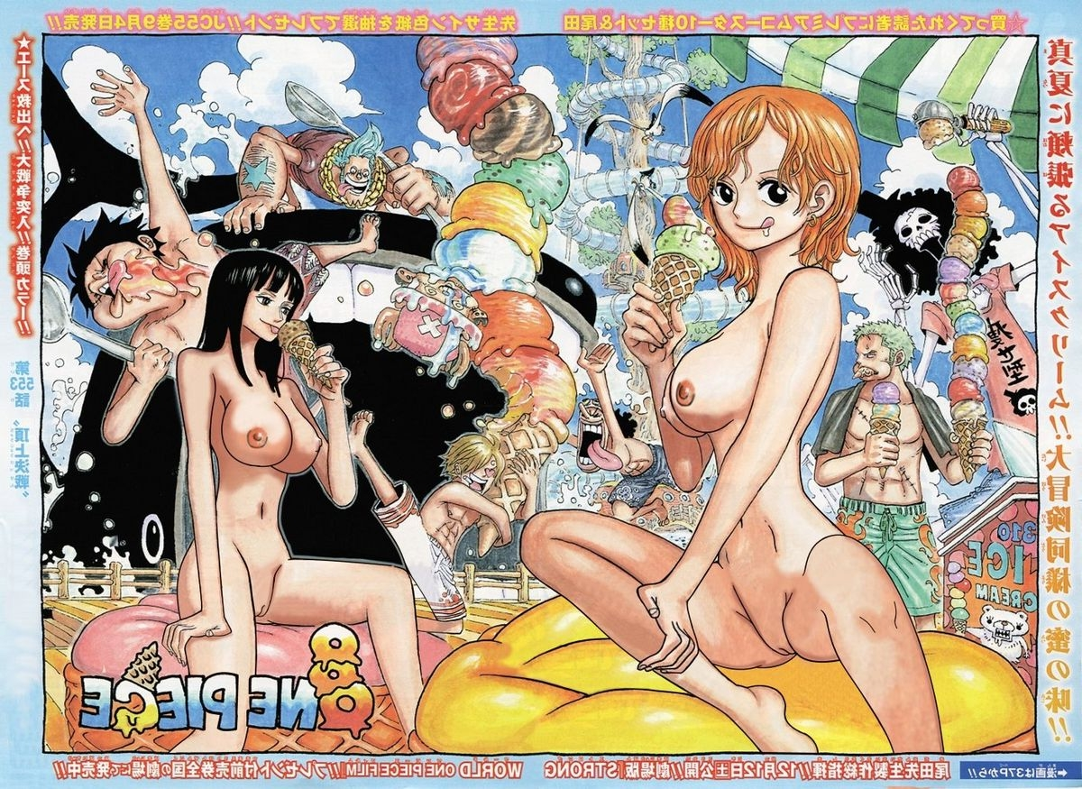 Toon sex pic ##00013059031 big breasts breasts brook food franky ice cream la boom large breasts long hair looking at viewer monkey d luffy naked nami navel nico robin nipples nude nude filter one piece photoshop pussy roronoa zoro sanji short hair spread legs tongue tony tony chopper uncensored undressing usopp