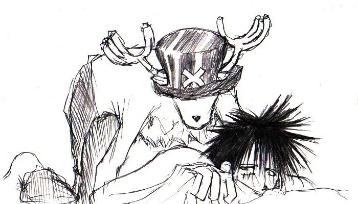 Toon sex pic ##000130283517 chopper monkey d. luffy one piece yaoi