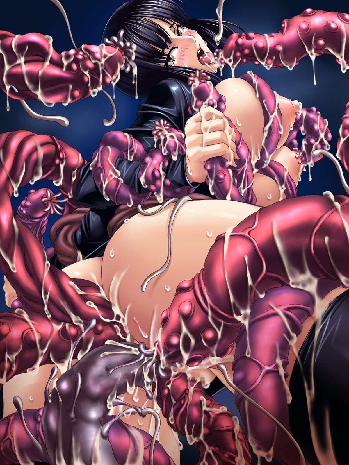 Toon sex pic ##00013047565 female anal anal sex anal sex ass backboob black hair blush breasts censored cum double handjob double penetration drooling fellatio gangbang group sex handjob highres huge breasts insertion kagami looking back monster multiple insertions multiple penises nico robin nipples no bra no panties one piece open clothes open mouth open shirt oral orange eyess penetration penis pussy rape saliva shirt slime solo sweat tear tentacle thighhighs tongue vaginal penetration vaginal penetration