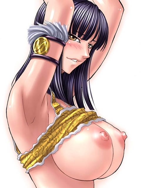Toon sex pic ##00013030356 black hair blush breasts female huge breasts kagami large breasts nico robin nipples one piece shirt lift simple background solo undressing yellow eyess