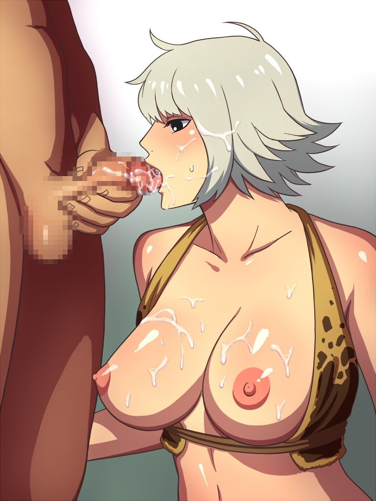 Toon sex pic ##00013013626 female breasts bukkake censored cum cum in mouth cum on tongue facial fellatio hako yashiki marguerite one piece oral penis straight