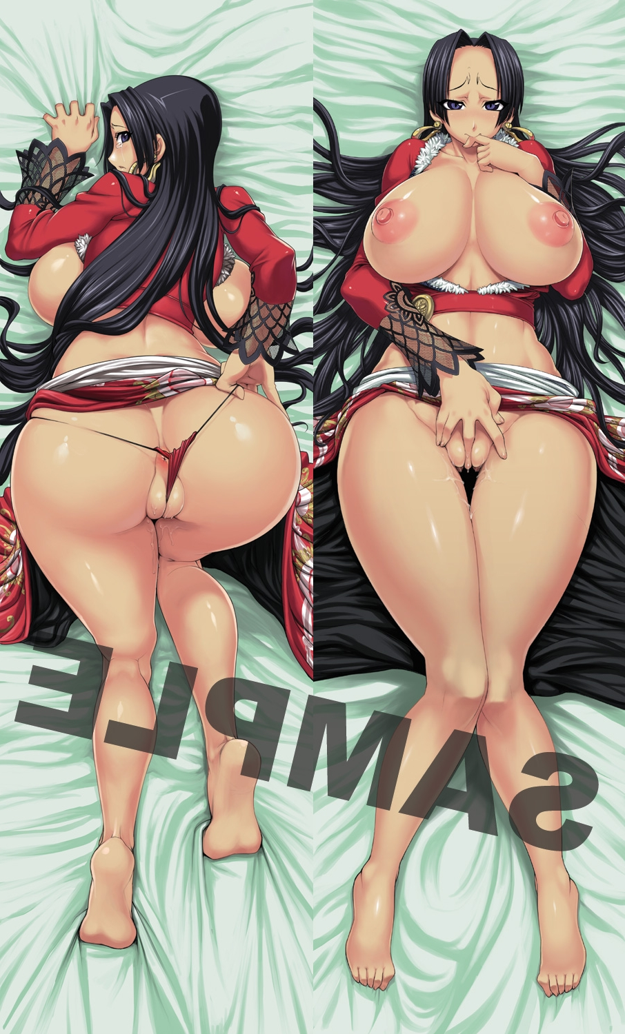Toon sex pic ##00013011627 anus backboob barefeet bed sheet biting black hair blue eyes boa hancock breasts cameltoe crop top curvy dakimakura dat ass earrings fat mons feet female finger biting flossing highres hips huge ass huge breasts jewelry jun (rojiura jack) long hair looking back lying masturbation midriff nipples no bra one piece open clothes open shirt panties pussy pussy juice red panties rojiura jack sample see-through sheet grab shirt skirt skirt lift solo tear thick thighs thigh gap thighs thong uncensored underwear very long hair watermark wedgie wide hips