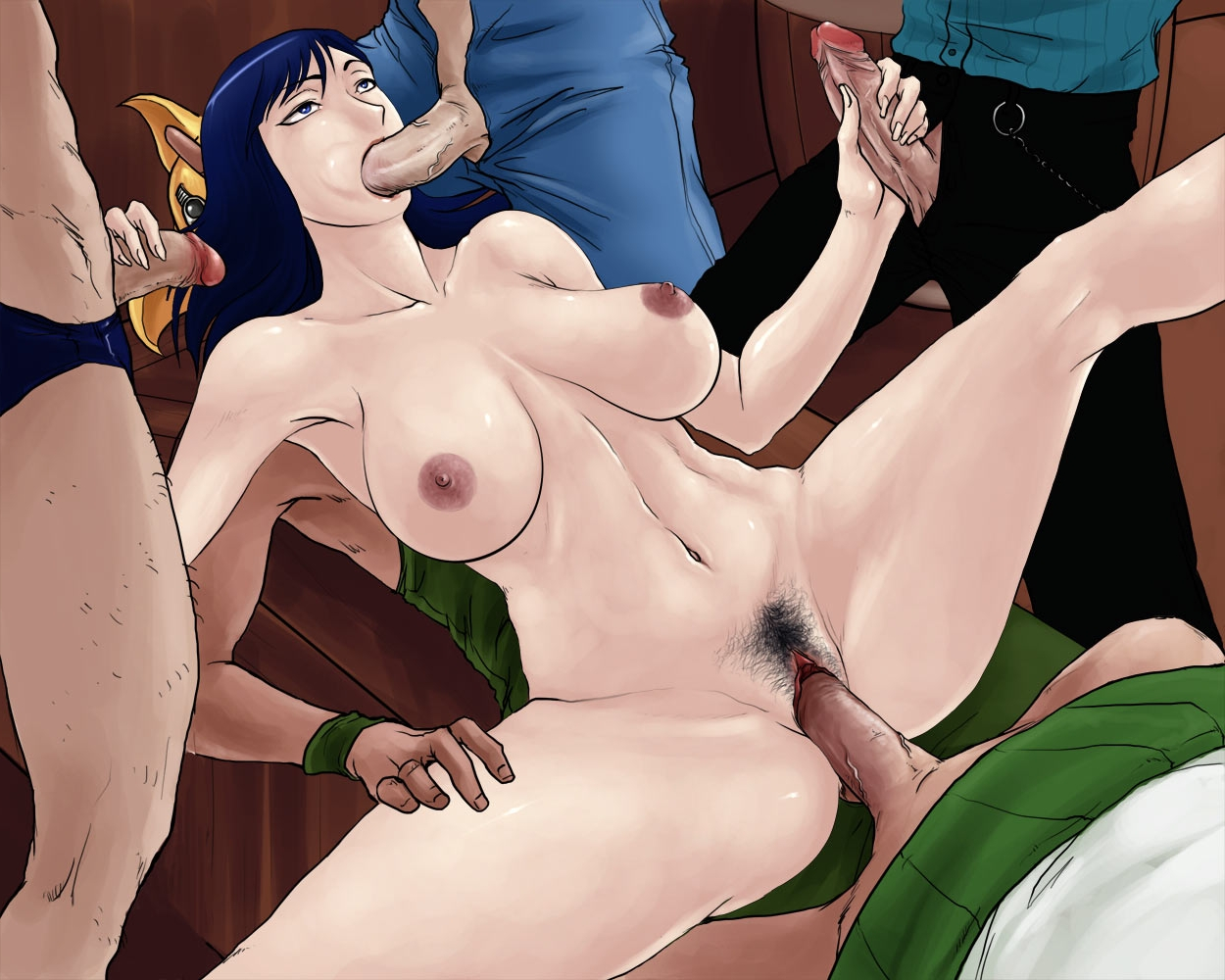 Toon sex pic ##000130249039 female ass bottomless franky gangbang group sex monkey d. luffy nico robin one piece pubic hair pussy rennes roronoa zoro sanji sogeking spread legs uncensored usopp vaginal penetration