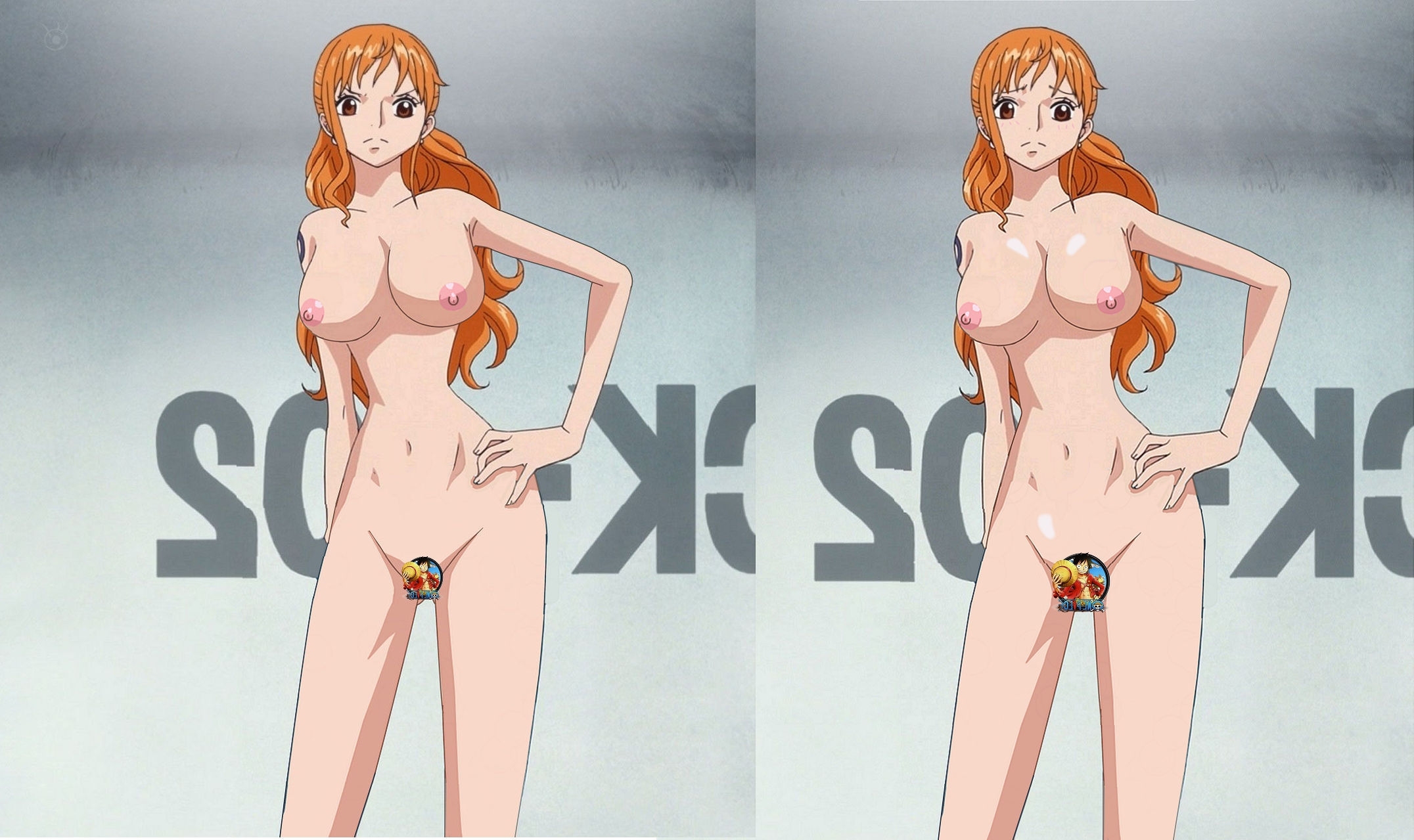 One piece naked picture adult image