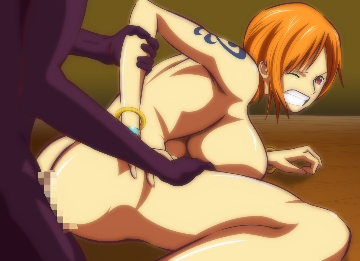 Toon sex pic ##0001301216338 ass bracelet breasts cahlacahla censored clenched teeth from behind jewelry large breasts nami nude one piece orange hair sex short hair tattoo teeth