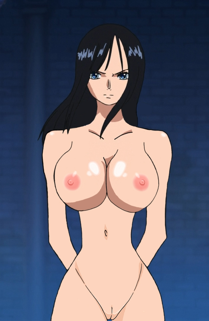 Toon sex pic ##0001301548377 big breasts face fun piece nico robin nude filter one piece photoshop uncensored