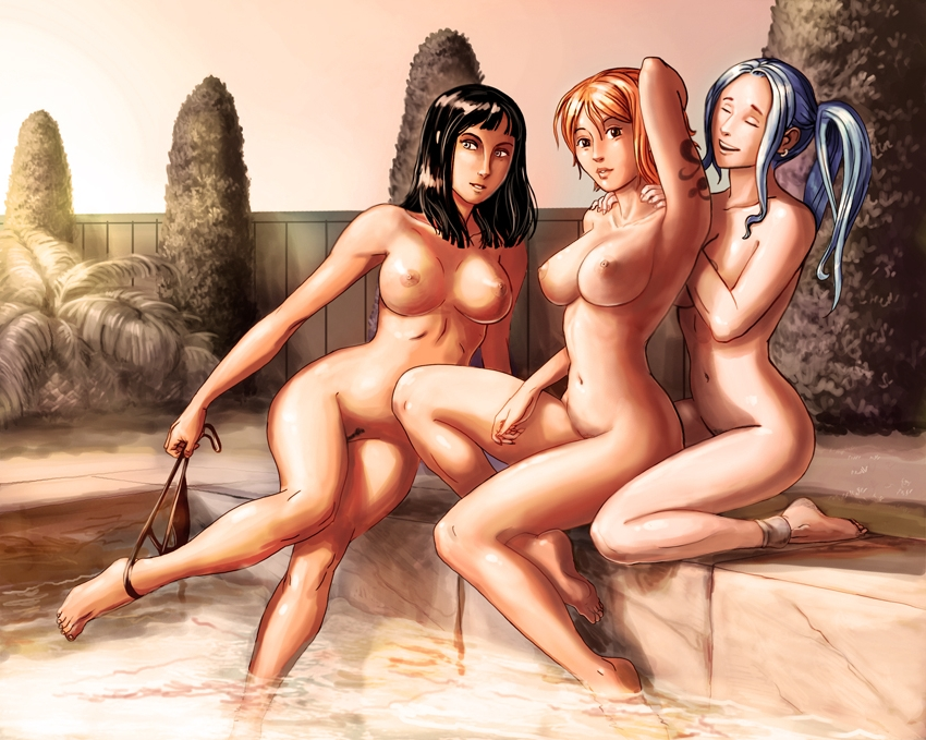 Toon sex pic ##0001301094475 nami nefertari vivi nico robin one piece poulpehentai44