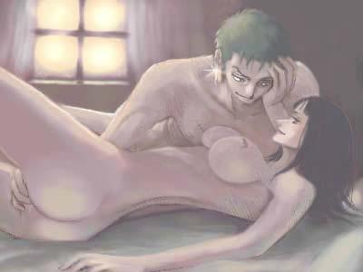 Toon sex pic ##000130940160 female dugan fingering nico robin nude one piece pairing roronoa zoro