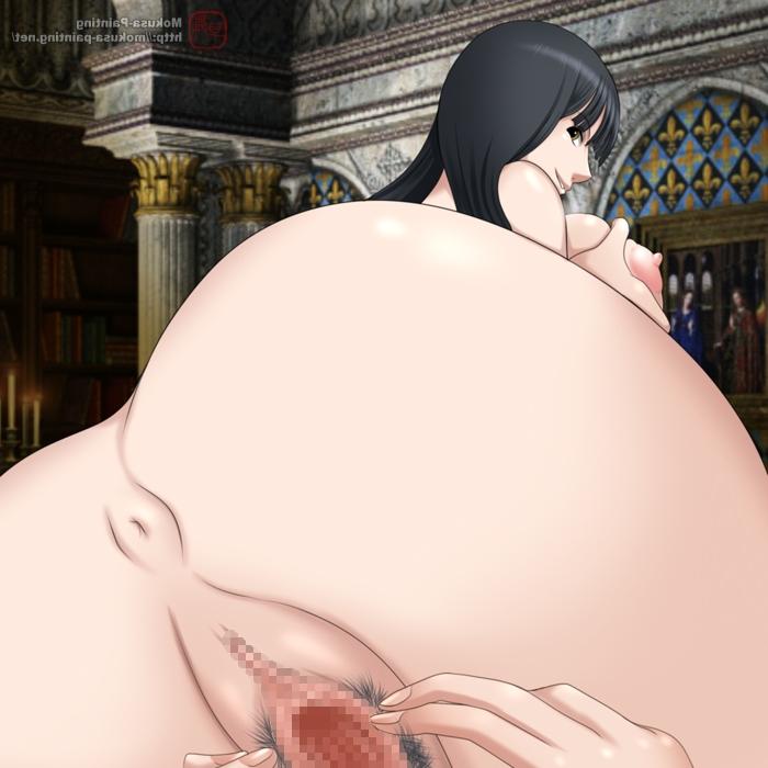 Toon sex pic ##000130690531 anus ass breast grab masturbation mokusa nico robin nude one piece pussy spread pussy