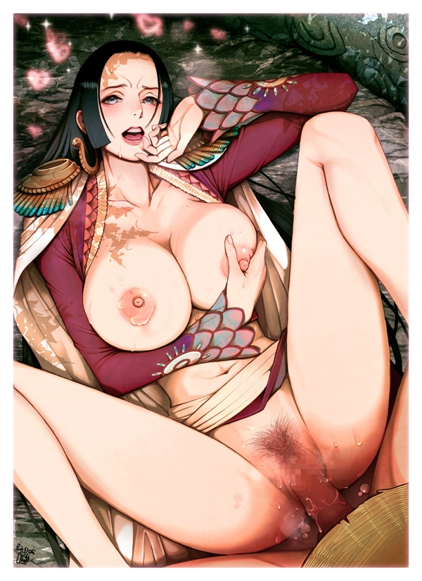 Toon sex pic ##000130764646 black hair blue eyess blush boa hancock bottomless breast grab breast hold breasts censored clitoris clothed sex cum cum inside earrings erect clitoris erect nipples female finger to mouth green eyess hal1975 harumaki hat huge breasts jewelry large breasts legs lips long hair long legs lying monkey d luffy navel nipples one piece open clothes open mouth open shirt panties penis pubic hair pussy sex shirt shirtless spread legs straw hat sweat tear thighs tomohide underwear vaginal penetration vaginal penetration