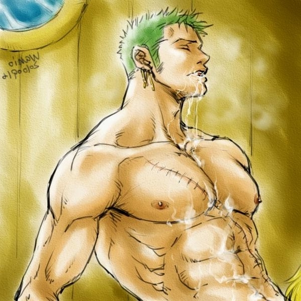 Toon sex pic ##000130654821 male one piece roronoa zoro sanji yaoi