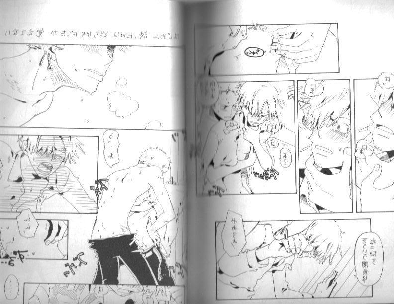 Toon sex pic ##000130626947 2boys anal blush comic doujin gay japanese male male only multiple boys one piece roronoa zoro sanji scan sex yaoi
