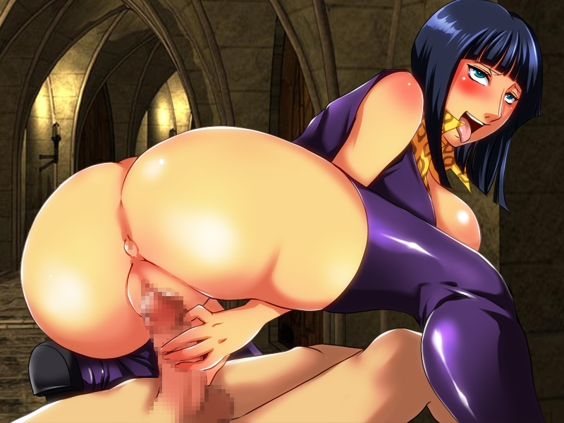 Toon sex pic ##000130548274 ahe gao ahe gao anus ass black hair blue eyess blush breasts censored fucked silly large breasts latex long hair naughty face nico robin one piece penis pussy sex shiny thighhighs tongue uk-violet vaginal penetration