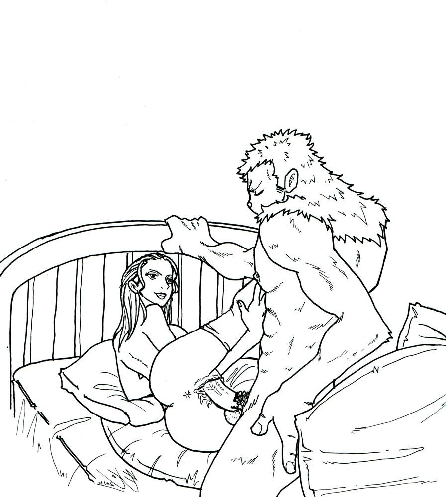 Toon sex pic ##000130526956 anus ass bed zoofilia chopper leg hold leg lift nico robin one piece pussy pussy juice sex thighhighs tony tony chopper vaginal penetration zoofilia