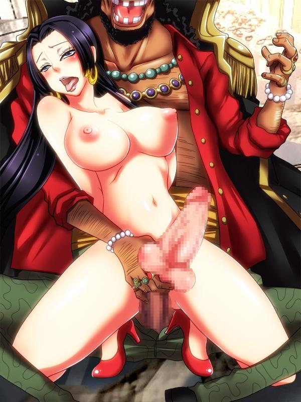 Toon sex pic ##000130503936 blackbeard boa hancock one piece tagme