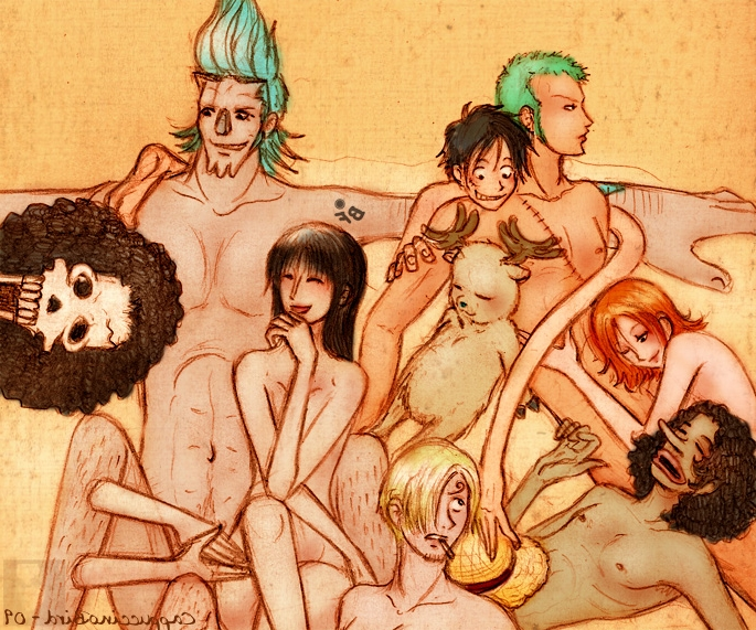 Toon sex pic ##000130505564 brook chopper franky monkey d. luffy nami nico robin one piece roronoa zoro sanji usopp