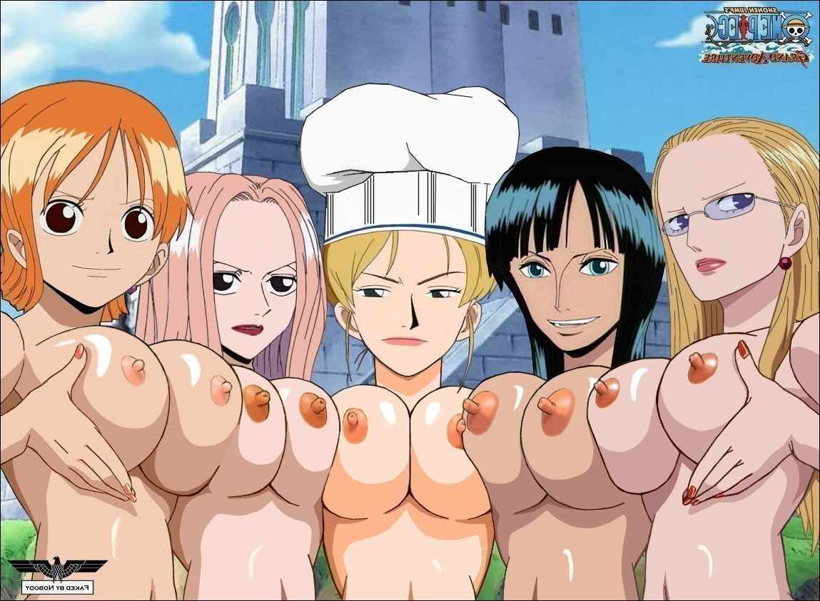 Toon sex pic ##000130457840 5girls breasts female hanashino karui hina hina (one piece) jessica kalifa nami nico robin one piece photoshop
