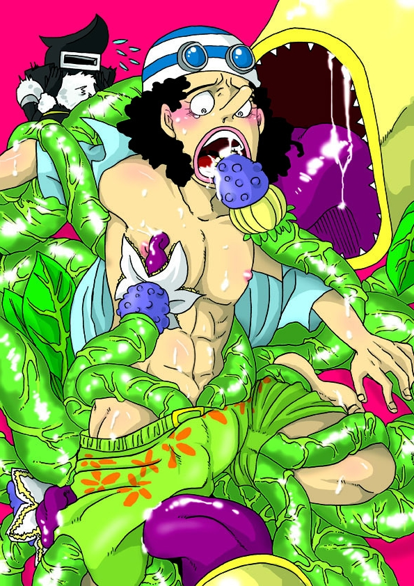 Toon sex pic ##000130426265 hercules male one piece plant tentacle tentacles on male undressing usopp yaoi