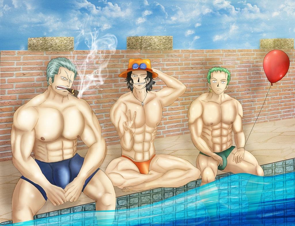 Toon sex pic ##000130412461 male one piece portgas d. ace roronoa zoro smoker yaoi