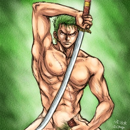 Toon sex pic ##000130408043 male one piece roronoa zoro yaoi
