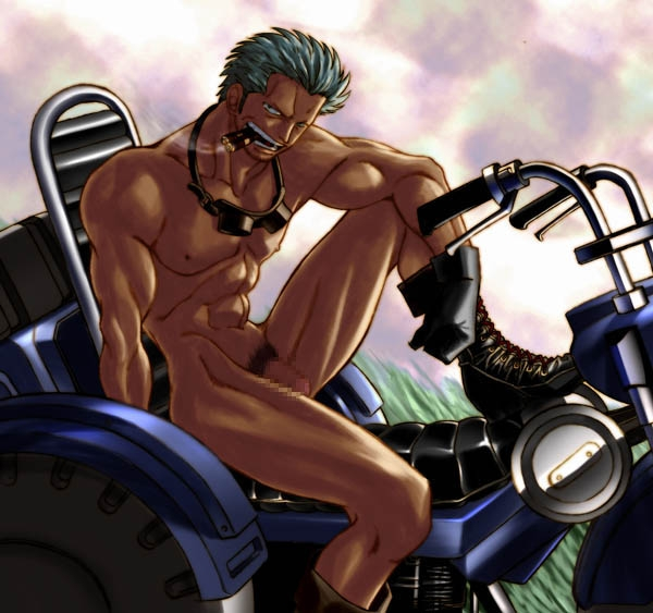 Toon sex pic ##000130387356 male male only motorcycle muscle one piece smoker solo solo male tagme yaoi