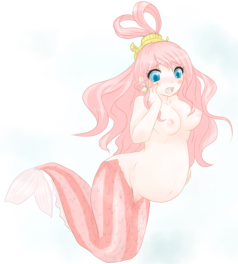 Toon sex pic ##000130981567 female breasts one piece pregnant shirahoshi