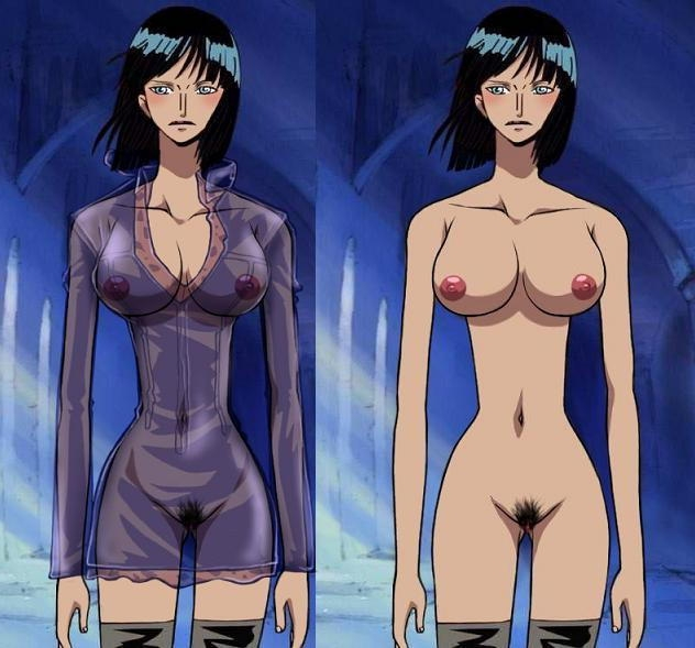 Robin one nude piece One Piece