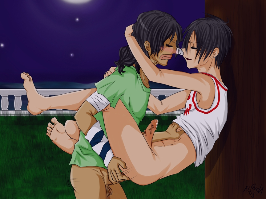 Toon sex pic ##000130323552 male monkey d. luffy navo one piece usopp yaoi