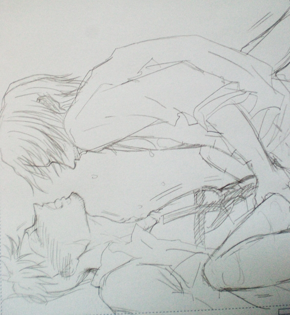 Toon sex pic ##0001301351711 2boys amputee anal blush gay male male only marco monochrome on back one piece open shirt pixiv shanks spread legs tattoo yaoi