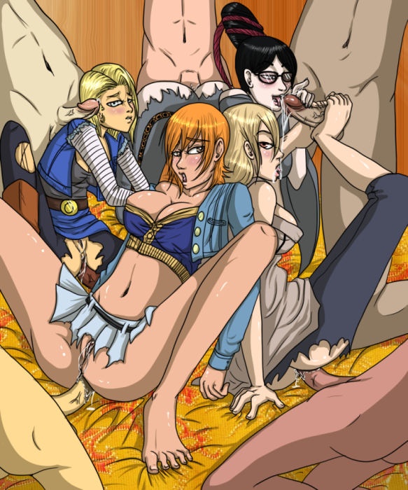 Toon sex pic ##000130660493 anal android 18 barefeet bayonetta bayonetta (character) crossover dark-skinned male dark penis dragon ball dragon ball z feetjob group sex interracial nami naruto one piece orgy pantyhose penis sega sex torn pantyhose tsunade uncensored
