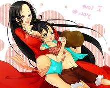 Toon sex pic ##00013061751 1boy black hair blue eyes boa hancock earrings female food grey eyes heart high resolution hug long hair meat monkey d luffy navel one piece open clothes red jacket sash scar shorts side slit sitting skirt vest
