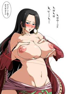 Toon sex pic ##00013091894 bb blush boa hancock breast grab breasts large breasts one piece sato (pixiv956274) satomi sato translation request