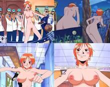 Toon sex pic ##00013075821 female breasts marine military uniform nami nude nude filter one piece photoshop pussy sanji tattoo uncensored usopp