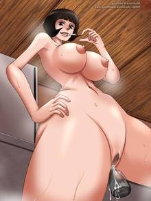 Toon sex pic ##00013067173 female breasts censored mokusa nude one piece pubic hair pussy shakuyaku solo