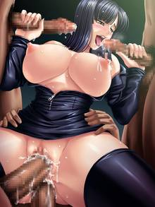Toon sex pic ##00013047557 blush breasts censored double handjob double penetration fellatio gangbang group sex handjob highres huge breasts kagami mosaic censoring multiple penises nico robin nipples one piece open clothes open shirt oral penis pussy pussy juice sex shirt thighhighs vaginal penetration vaginal penetration