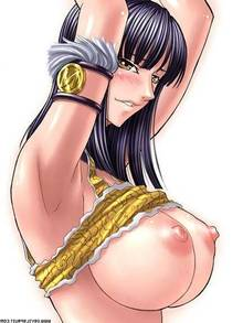 Toon sex pic ##00013033108 black hair blush breasts devilsfruit huge breasts kagami nico robin nipples one piece shirt lift watermark