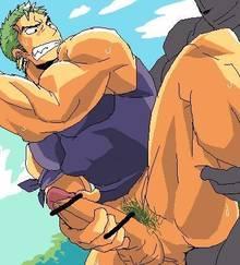 Toon sex pic ##000130279160 male one piece roronoa zoro yaoi