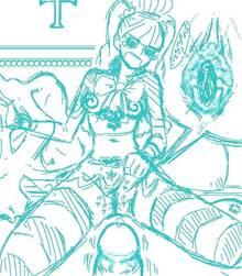Toon sex pic ##000130175673 @ @ bondage bondage bug bugs censored long hair midriff navel one piece penis perona skirt skirt lift sticky striped striped legwear striped thighhighs tear thighhighs tight shirt