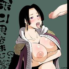 Toon sex pic ##000130123841 boa hancock breasts censored huge breasts nipples one piece penis