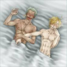 Toon sex pic ##0001301249575 2boys aftersex gay male male only one piece roronoa zoro sanji sheet syb tagme toplesss yaoi