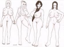 Toon sex pic ##0001301176890 bleach boa hancock chambs fairy tail lisanna strauss mirajane strauss naruto one piece samui unohana retsu