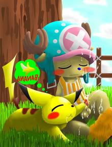 Toon sex pic ##0001301091868 chopper no humans one piece pikachu pokemon yaoi