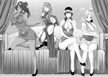 Toon sex pic ##0001301546561 4girls ascot bare shoulders bed bleach breasts cleavage cross-laced clothes crossed legs crossover dress eizen10 elbow gloves erza scarlet fairy tail finger to mouth fingerless gloves garter straps gloves high heels japanese clothes kneeling long hair looking at viewer monochrome multiple girls naruto nico robin one piece parted lips ponytail quad tails shihouin yoruichi sitting smile temari thighhighs