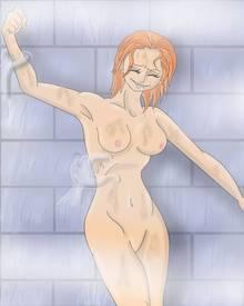 Toon sex pic ##000130976313 koochiekoochietoons nami one piece tickle what